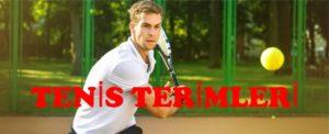 tenis terimleri
