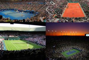 büyük tenis turnuvaları