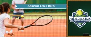 samsun tenis dersi