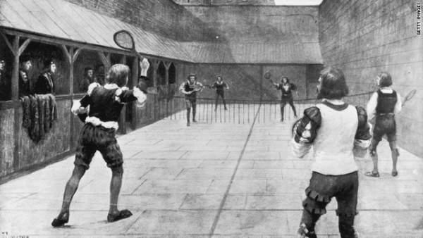 soyluların oyunu tenis