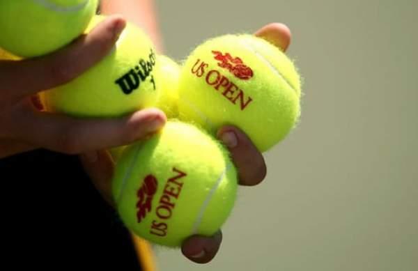 amerika açık tenis topları