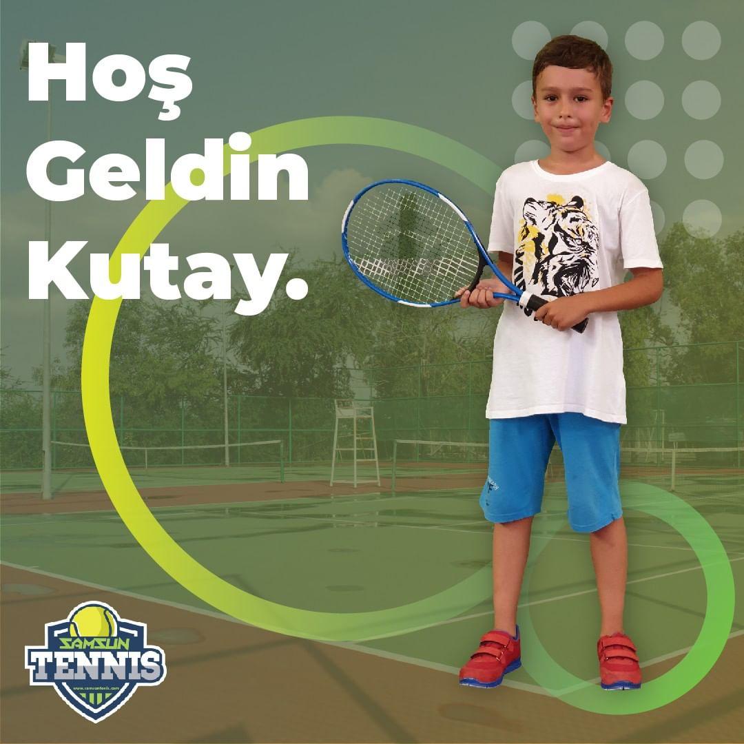 Samsun Tenis Akademisine Hoş Geldin Kutay Kavaklıoğlu