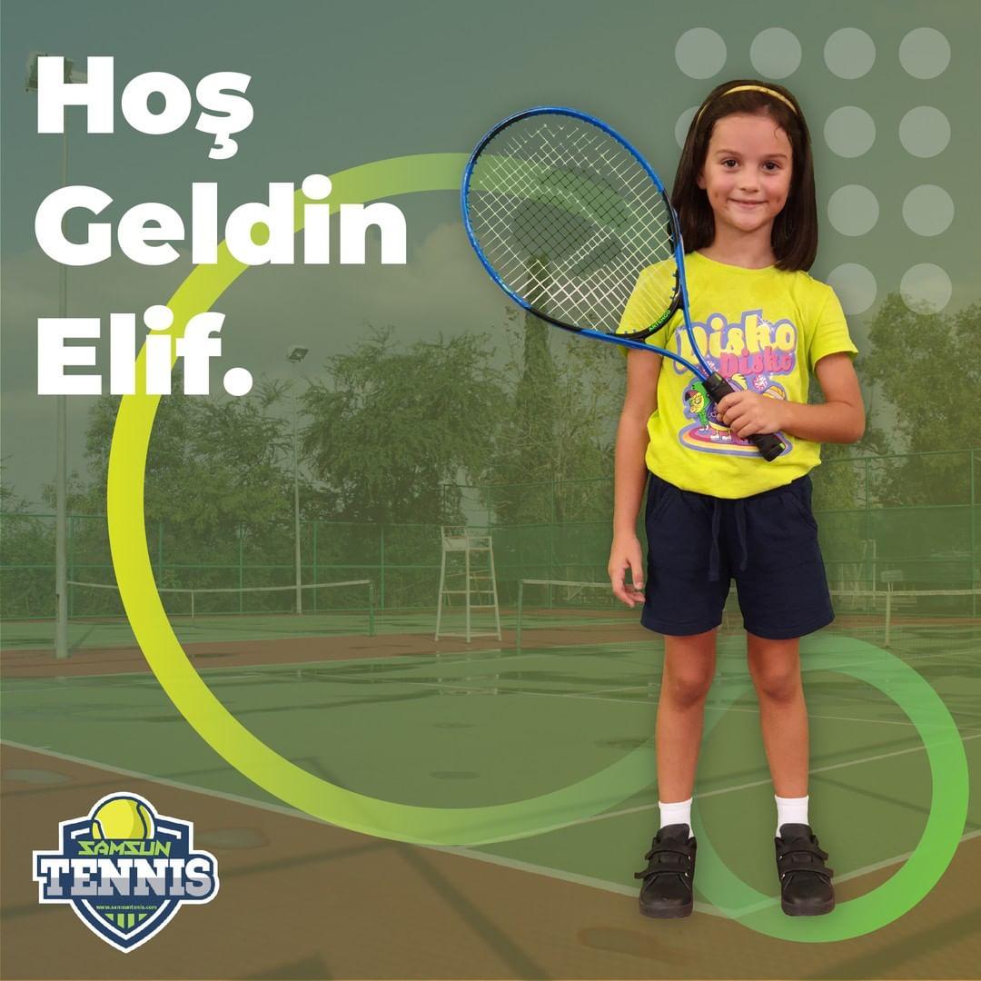 Samsun Tenis Akademisine Hoş Geldin Elif Çağla Konya