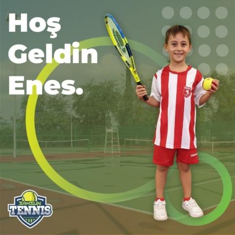 Samsun Tenis Akademisine Hoş Geldin Enes Toprak