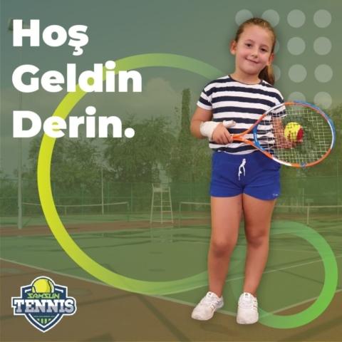 Samsun Tenis Akademisine Hoşgeldin Derin Yılmaz